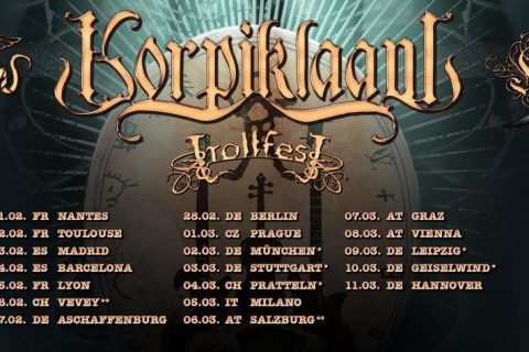 Extended shows European tour 2018